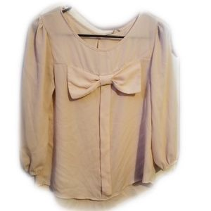 Polyester long sleeve button down shirt
